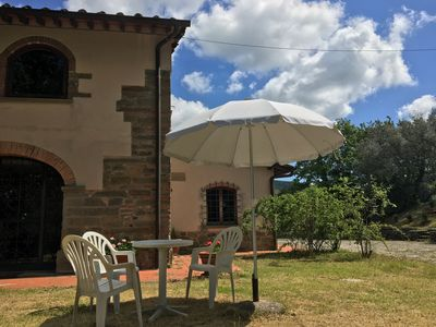 Photo for Panoramic villa with pool - 12 bed places - Tuscany Chianti hills near Florence