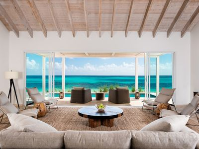 Photo for Luxury 4 bedroom beachfront villa at Sailrock Resort on South Caicos in Turks and Caicos