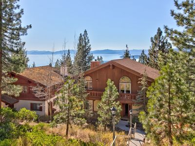 Photo for Roomy chalet w/  views, near lake & slopes, dogs ok!