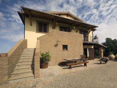 Photo for Mansion in Montefiascone with Pool, Garden, Parking,Barbecue