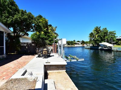 Photo for Home on Boating Canal with Dockage and  Pet Friendly Property