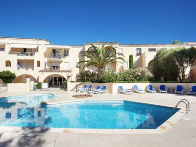 Photo for Beautiful apartment for 4-6 people within walking distance of Saint-Tropez (1 km)