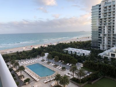Photo for THE PERFECT VIEW OF SOUTH BEACH - 1 Bedroom + 1.5 Bathrooms