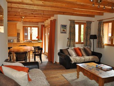 "Photo for Residence ""La Joly"" located in the area of Contamines, at the foot of the slopes of Crêt Béni. Shutt"