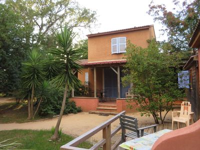Photo for Holiday home 150m from the beach in Corsica