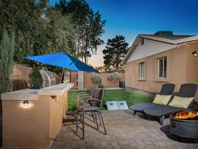 Photo for Two master bedroom suites, 3 full b minutes to Kierland with heated pool & spa!