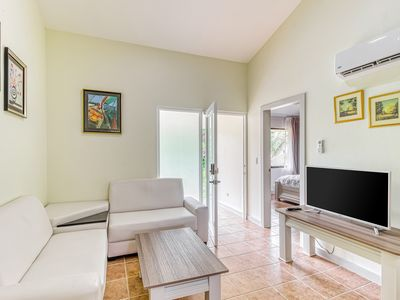 Photo for Secure getaway w/ a shared pool & pool spa in Playa Del Coco