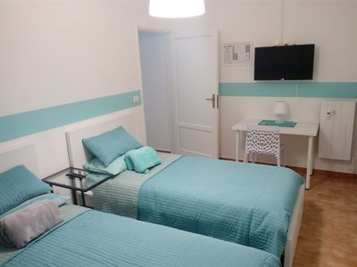 Photo for Dora room / twin beds and shared bathroom - Ivrea la Bella - guest house
