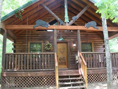Photo for Always & Forever Honeymoon Cabin**PRIVACY**Only 3 miles to DOWNTOWN PIGEON FORGE