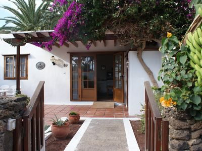 Photo for Attractive 2 bed accessible villa at Las Brisas, heated pool, close to beach