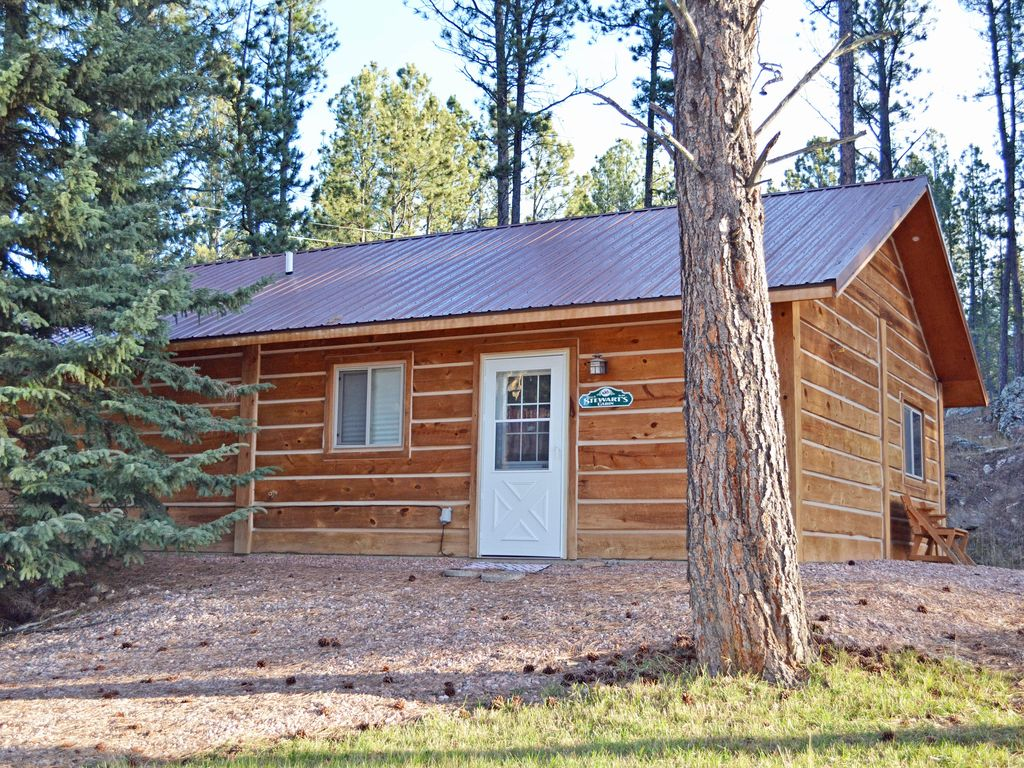 New charming cabin near historic downtown custer 2 br for Cabins near custer sd