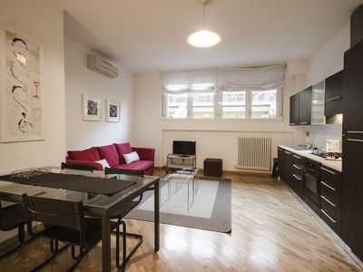 Photo for Cozy 1BR with car park in the heart of Bologna