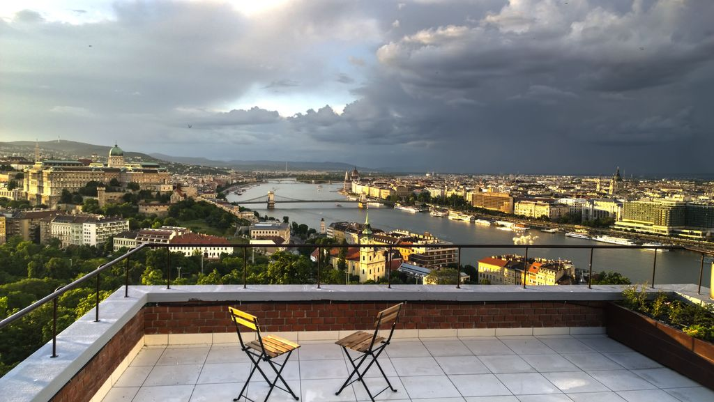 View Of Budapest Apartment - HomeAway