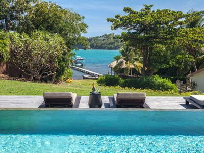 Photo for Luxury waterfront villa (MQFR08)