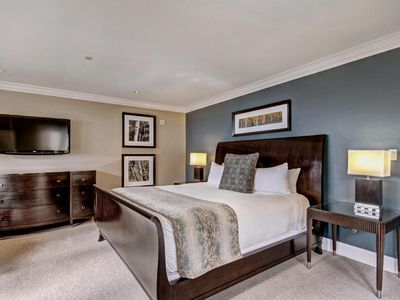 Photo for Convenient Ski/in Ski/out and Comfortable King Bed Room in Vail Village