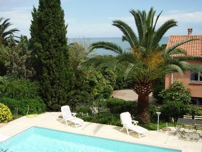 Photo for Les Issambres Villa with Pool Sea View