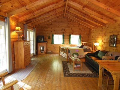 Photo for Hocking Hills Romantic Bliss Cabin - Pet Friendly - 4 miles to Old Mans Cave