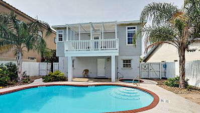 Family-Friendly South Padre Home with Pool   Short Walk to Beach & Gulf!