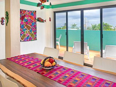 Photo for Fit for the Captain, a Suite at Caribe Suites Puerto Morelos near Cancun