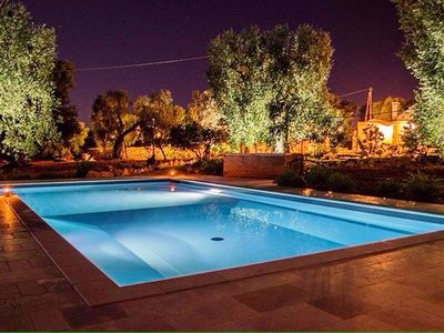 Photo for INDEPENDENT TRIPLE AND ACCOMMODATION IN THE 1700'S SPLENDID MASSERIA WITH SWIMMING POOL - WIFI
