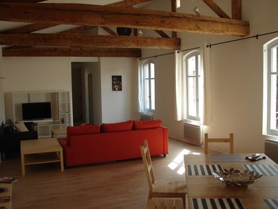 Photo for Superb fully renovated loft in the heart of historic Avignon