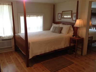 Four Queen Size Antique Pine Beds...Two in Each Bedroom