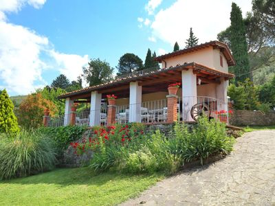 Photo for Vacation home Podere Berrettino in Reggello - 6 persons, 3 bedrooms