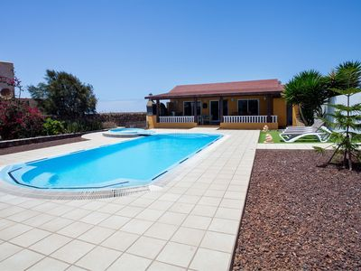 Photo for Tranquil Villa Vista Malpei with Large Pool, Jacuzzi, Terrace, Garden & Wi-Fi; Parking Available