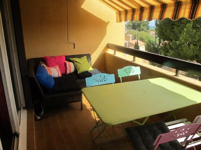 Photo for APARTMENT 3 Rooms 65 m² + Terrace in Residence with Pool