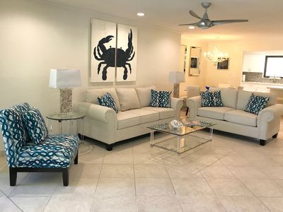 Photo for Coastal Elegence-Professionally Decorated, Fully Renovated & All New Furniture.