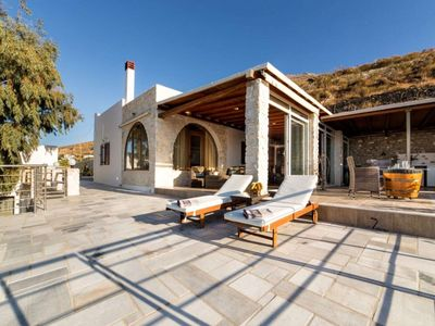 Photo for Elegant Villa in Paros with Veranda and Balcony
