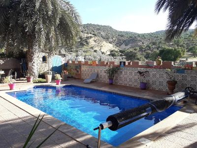 Photo for BEAUTIFUL HOUSE WITH SWIMMING POOL AOURIR (12 km Agadir)