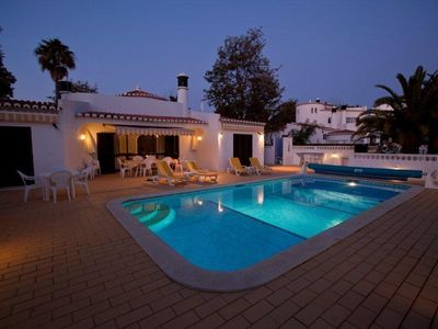 Photo for Single-storey villa. Free Pool Heating! Free WiFi. Ideal for 2 families to share