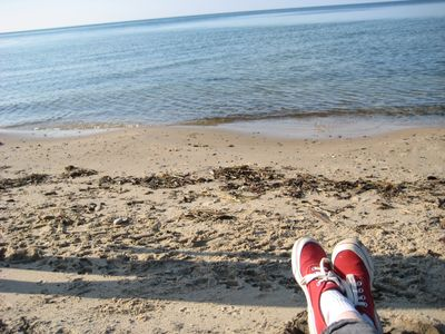Photo for Pure Relaxation on Lake Michigan