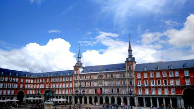 Photo for apartment with fantastic view of Plaza Mayor Madrid