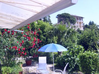 Photo for Studio with satellite TV, terrace near the beach
