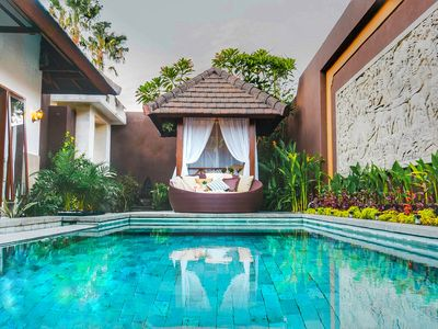 Photo for Villa Lapiz Lazuli Seminyak Kuta 3 Bedroom Private Pool  Luxury Villa