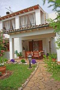 Photo for Lovely duplex in a quiet urbanization of Playas de Muro very close to the beach