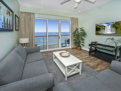Photo for AMAZING BALCONY VIEWS OF BEACHES!OPEN 4/11-18! CALL FOR AMAZING SPRING RATES