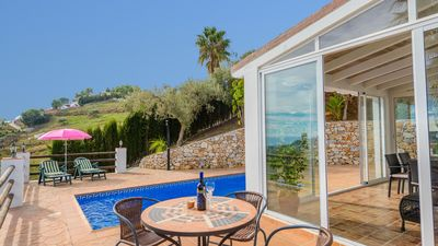 Photo for Charming holiday home with spectacular views in Frigiliana