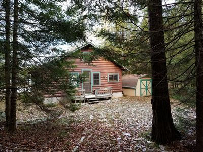 Photo for Authentic Northwoods Log Cabin