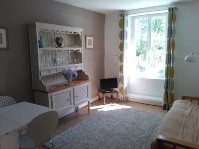 Photo for Bright And Airy Apartment .Self catering. Shops and lake walking distance.