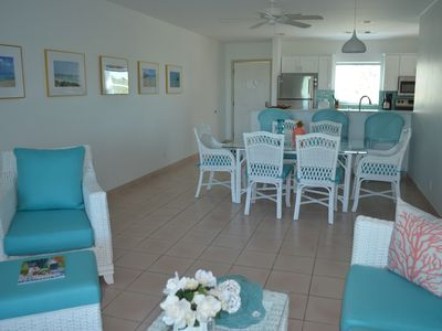 Photo for Gorgeous Newly Renovated Condo in Secluded Beachfront Resort