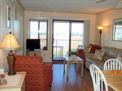 Our cozy comfortable living area with awesome direct ocean views