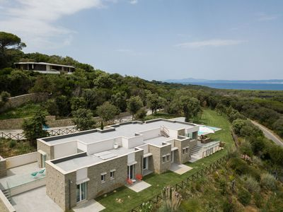 Photo for Nature, luxury, Wifi, swimming pool, air conditioning, exclusive beach, families