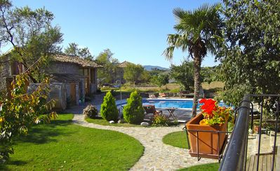 Photo for Charming family cottage with pool at the foot of the Spanish Pyrenees Ainsa Aragon