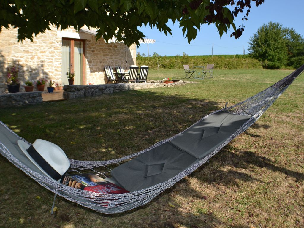 Auriolles Cottage Rental   The Hammock Under The Mulberry Tree