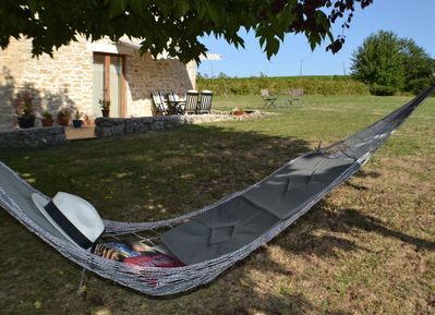 The hammock under the mulberry tree