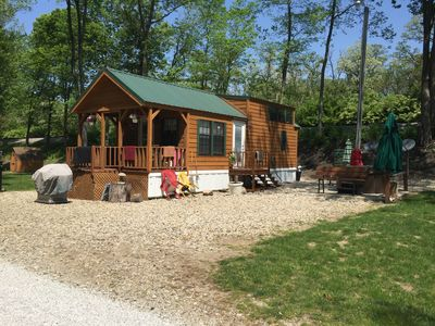 Cabin Sleeps 4 Great For Fishing For The Family! Has Bikes And Boats Too!