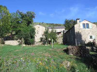 Photo for At the heart of the Ardèche Cevennes, 17th century house for 12 people